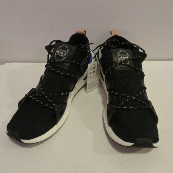 NWOB WOMENS ADIDAS ARKYN CQ2749 BLK SNEAKERS 10.5 28ee399f7e0b